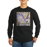 Graphic Design Word Cloud Long Sleeve T-Shirt