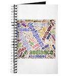 Graphic Design Word Cloud Journal