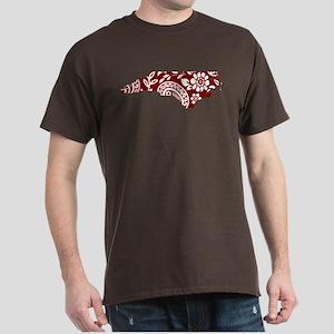 Red Paisley Dark T-Shirt
