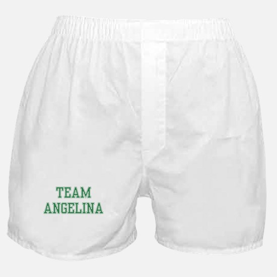 TEAM ANGELINA  Boxer Shorts