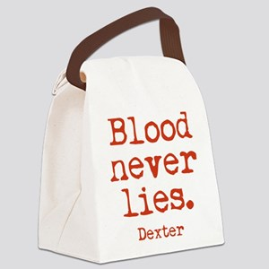 Blood Never Lies Canvas Lunch Bag