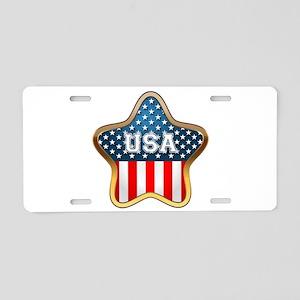American Star Aluminum License Plate