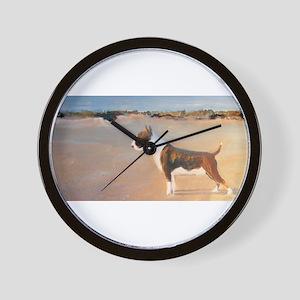 A Bull Terrier Wall Clock