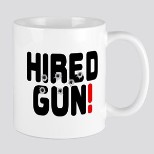 HIRED GUN! Small Mug