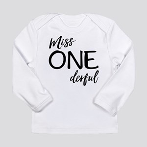 Miss Onederful Long Sleeve T-Shirt