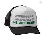 Aspergers Awareness Kids Trucker hat