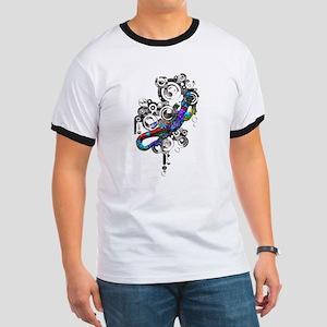 Abstract Bali Gecko T-Shirt