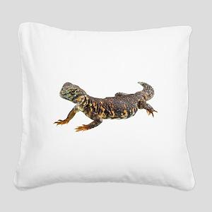 Uromastix Square Canvas Pillow