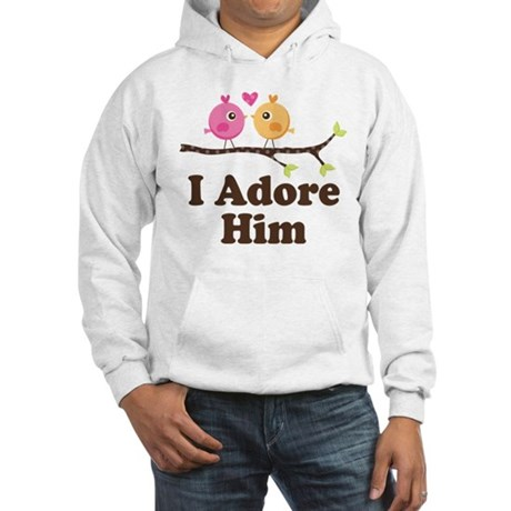 I Adore Him Hooded Sweatshirt