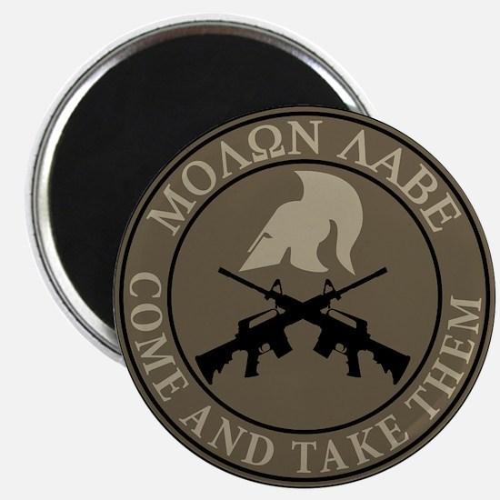 Molon Labe, Come and Take Them Magnet