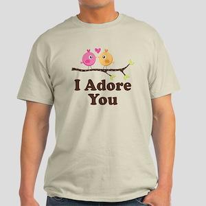 I Adore You Dating Gift Light T-Shirt