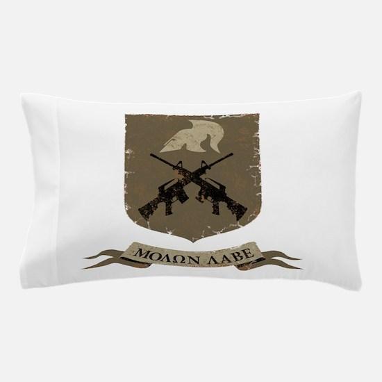 Molon Labe, Come and Take Them Pillow Case