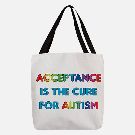 Autism Acceptance Polyester Tote Bag