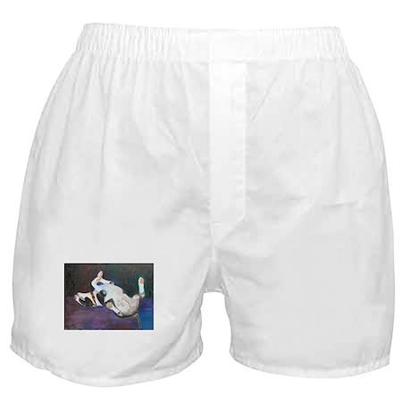 Joy a Bull Terrier Boxer Shorts