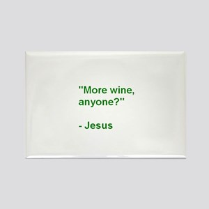 More Wine Anyone Jesus-SBM Magnets