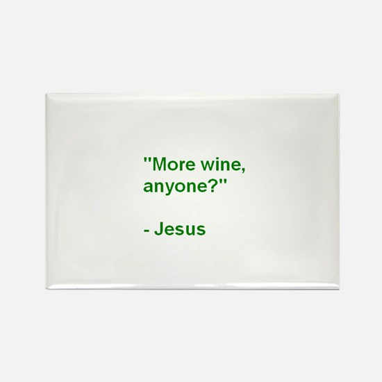 More Wine Anyone Jesus-SBM Magnets