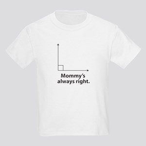 Mommys always right T-Shirt
