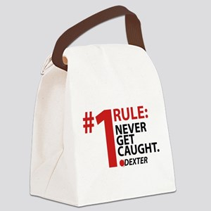Never Get Caught Canvas Lunch Bag