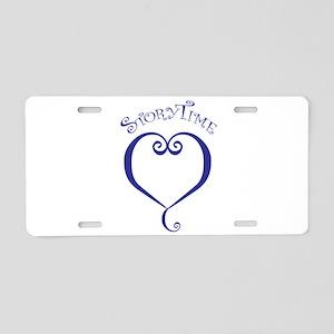 StoryTime Aluminum License Plate