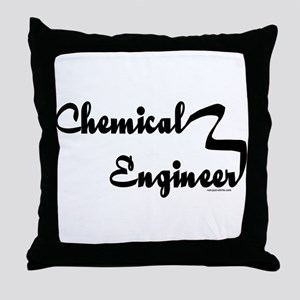 Chemical Engineer Throw Pillow