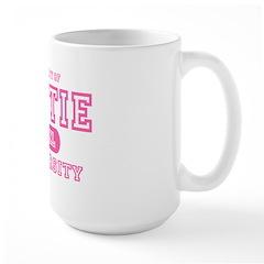 Hottie University Large Mug