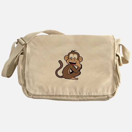 cheeky Monkey Messenger Bag