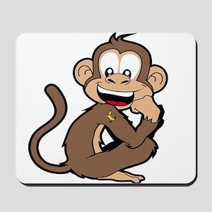 cheeky Monkey Mousepad