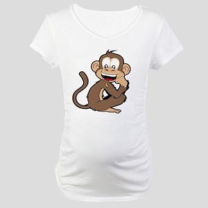 cheeky Monkey Maternity T-Shirt