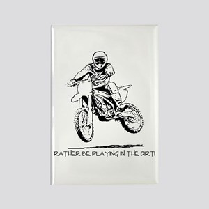 Rather be playing inthe dirt with motorbike Rectan