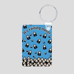 It's Raining Nuns Aluminum Photo Keychain