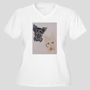 Baylee Buttons Scottish Terrier Scottie Plus Size