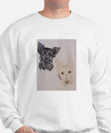 Baylee Buttons Scottish Terrier Scottie Sweatshirt