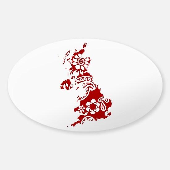 Paisley Sticker (Oval)