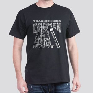 transmission tower white T-Shirt