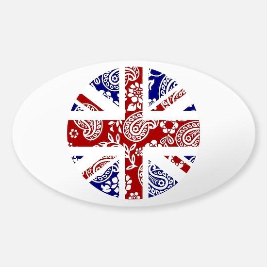 Paisley Jack Sticker (Oval)