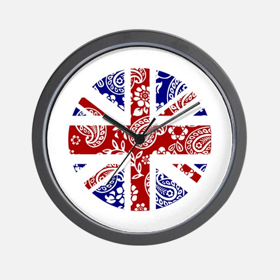 Paisley Jack Wall Clock