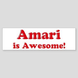 Amari is Awesome Bumper Sticker