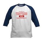 Temptress University Kids Baseball Jersey
