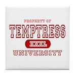 Temptress University Tile Coaster