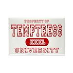 Temptress University Rectangle Magnet