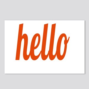 hello Postcards (Package of 8)