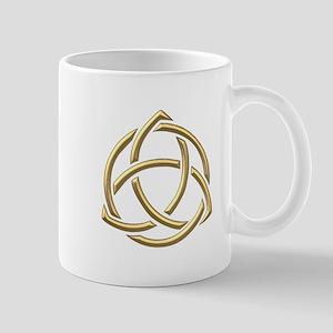 "Golden ""3-D"" Holy Trinity Symbol 1 Mug"