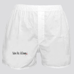 Future Mrs. McDreamy Boxer Shorts