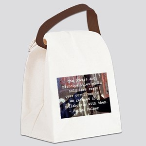 Parker Palmer Berlin Wall Canvas Lunch Bag