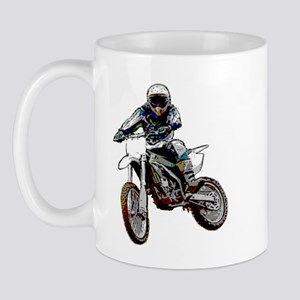 Playing in the dirt with a motorbike Mug