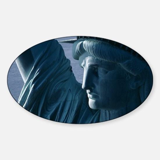Statue of Liberty Closeup Photograph Decal