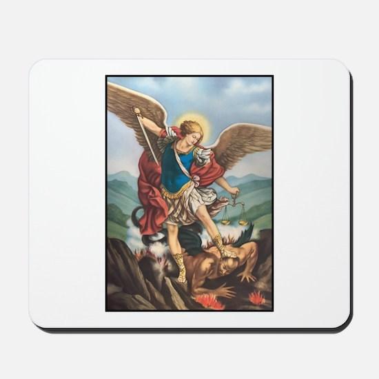 St. Michael the Archangel Mousepad
