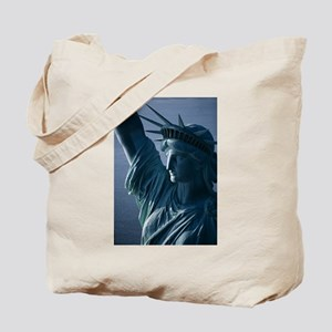 Statue of Liberty Closeup Photograph Tote Bag