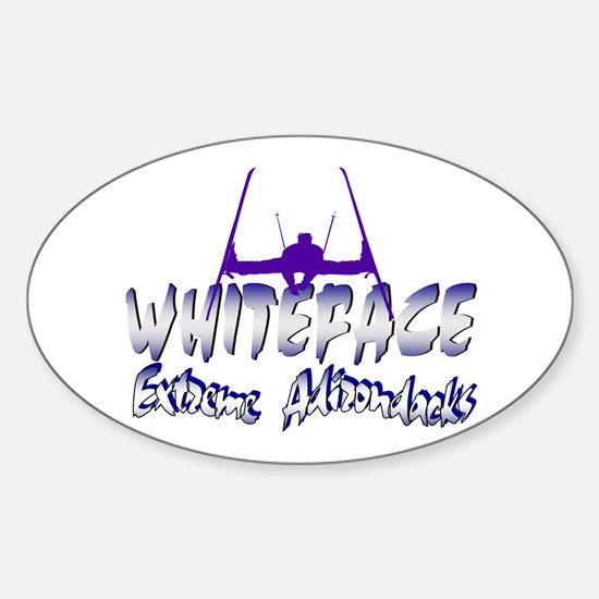 Whiteface Rectangle Decal