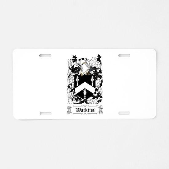 Watkins Aluminum License Plate